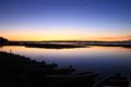 印旛沼・朝景 - 蒼満の長月 -