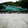 南蔵院の巨大釈迦涅槃像