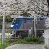 春の貨物車