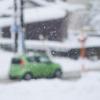 雪がちらちら