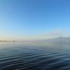 朝の琵琶湖(秋)