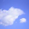 空。雲。大小。