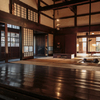 奈良邸・居間