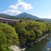 初夏の猿橋と桂川1