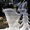「旋律」_明治神宮奉納全国氷彫刻展