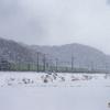 2018.1.30 EF66 30 雪の中を行く56レ福山レールエクスプレス