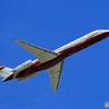 「すかい」 プライベート機 MD-87 N168CF 飛ぶ