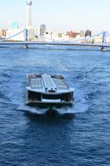 隅田川の船2