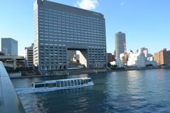 隅田川大橋から