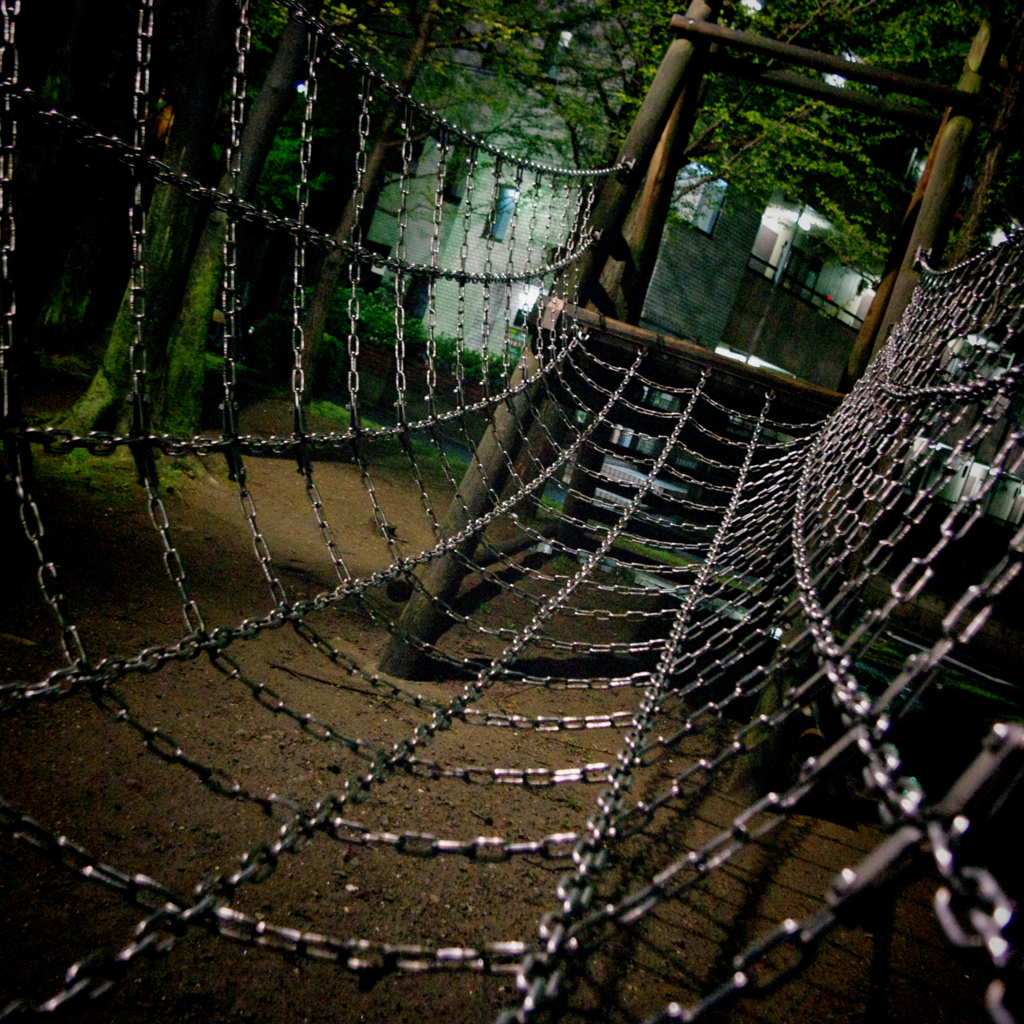 metal cobweb