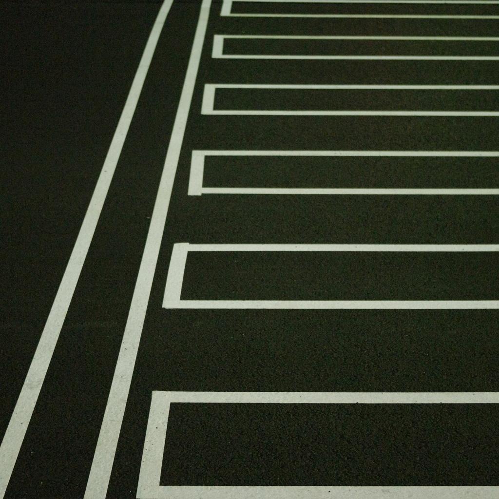 クールな横断歩道