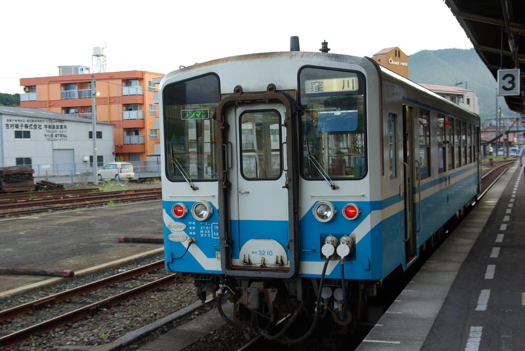 予讃線 宇和島駅