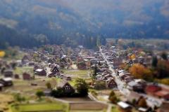 秋の白川郷