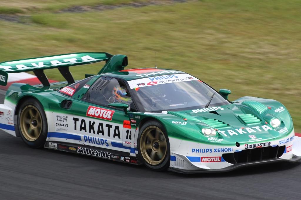 '07 SUPER GT R6 Pokka1000km TAKATA童夢 NSX