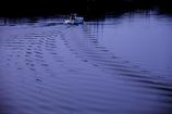 川を下る船
