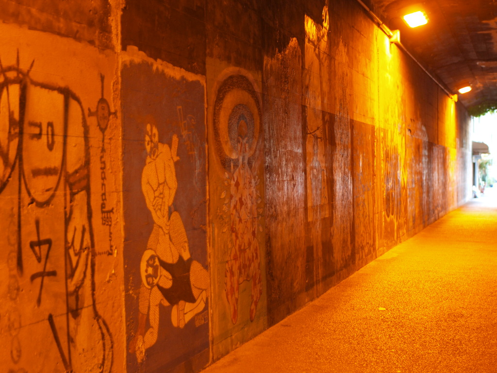 トンネルアート