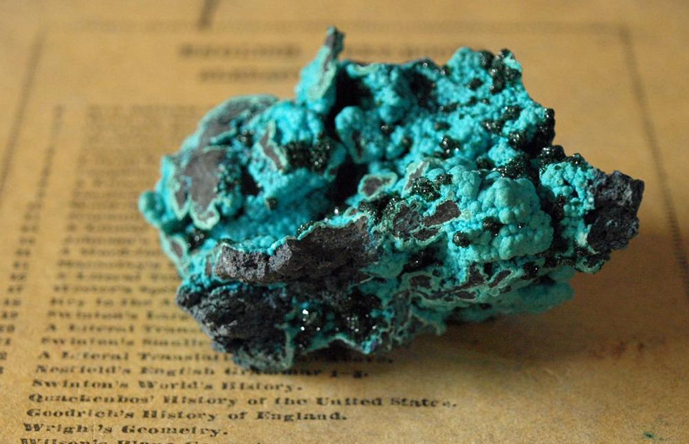 珪孔雀石 chrysocolla
