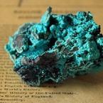 OLYMPUS E-410で撮影したインテリア・オブジェクト(珪孔雀石 chrysocolla)の写真(画像)