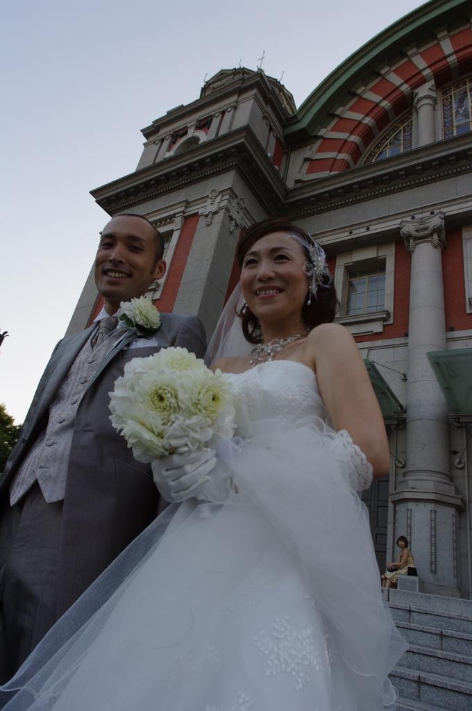 中之島の花嫁