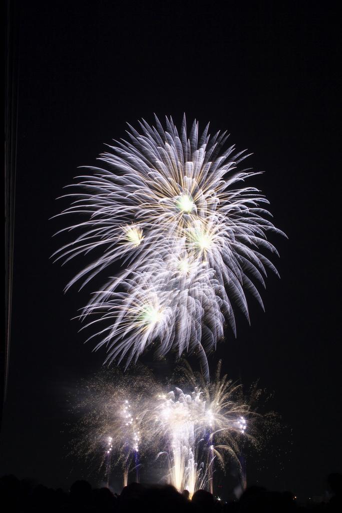 猪名川 花火 2008