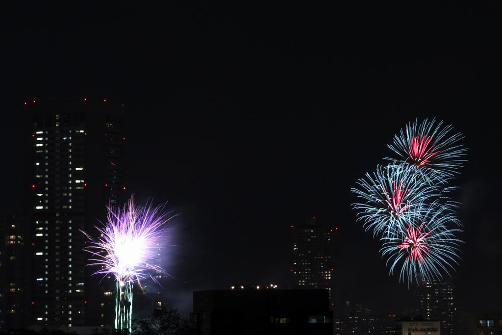 2008 天神祭り 花火