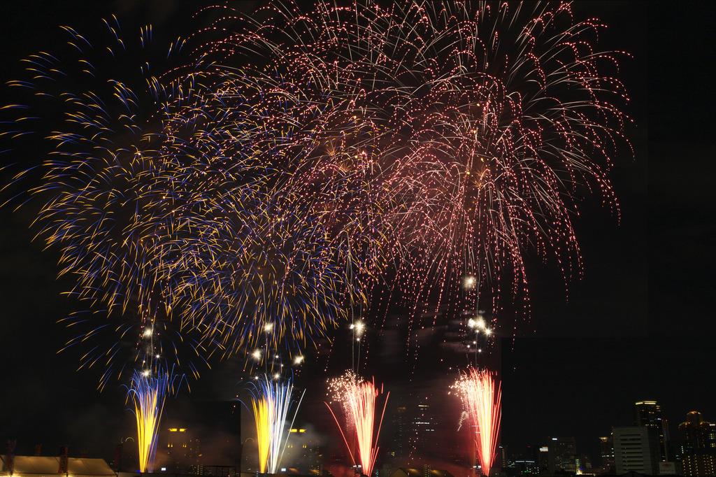 なにわ淀川花火大会 2009