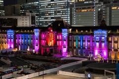 東京ミチテラス2015 東京駅スペシャルライトアップ /2