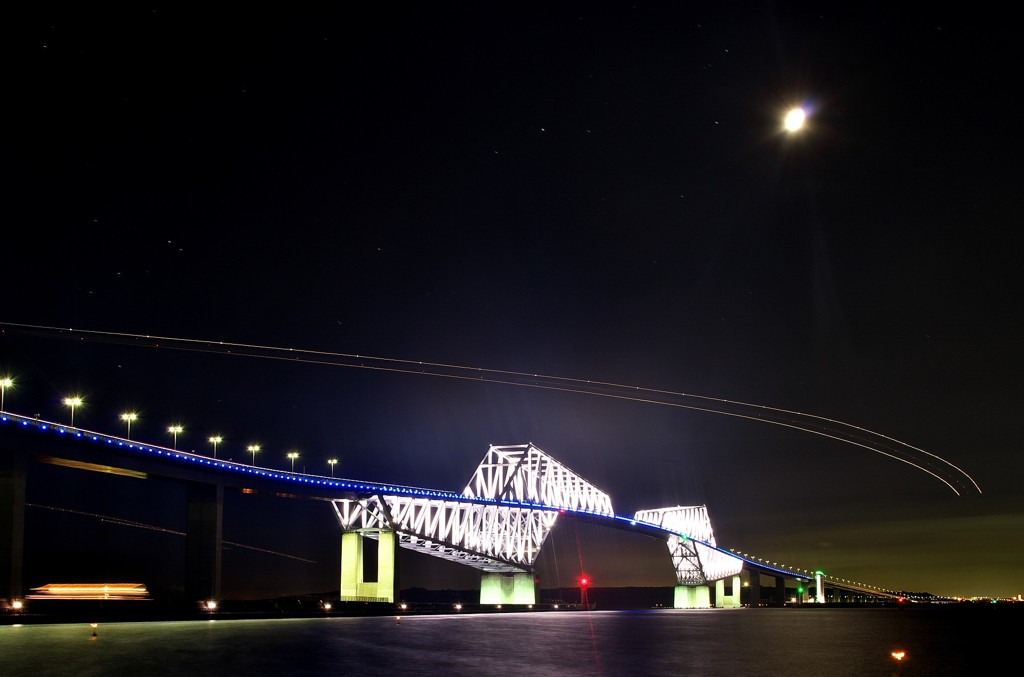 HNDアプローチ -恐竜橋上空-