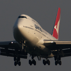 PENTAX PENTAX K-5 II sで撮影した(QANTAS 747-400 )の写真(画像)
