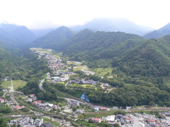 山寺からの風景