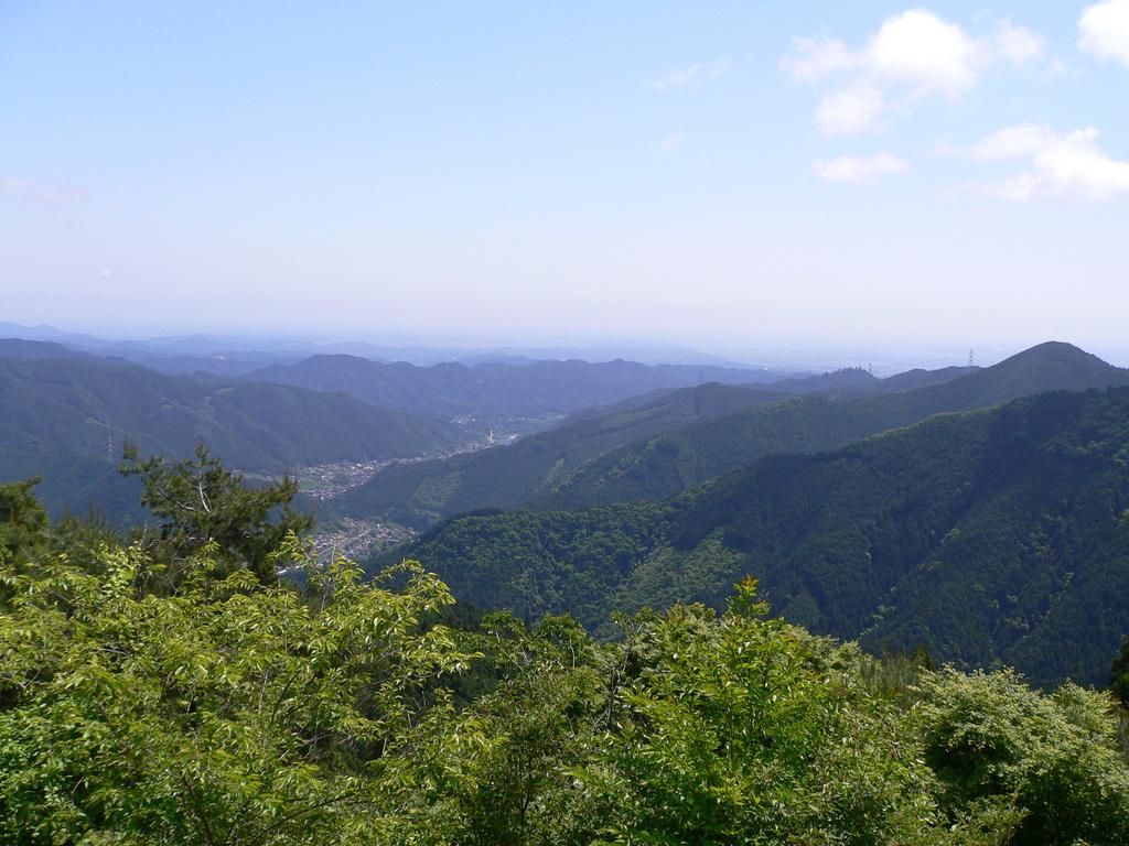 ケーブルカー乗り場からの風景