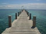 空に架かる桟橋