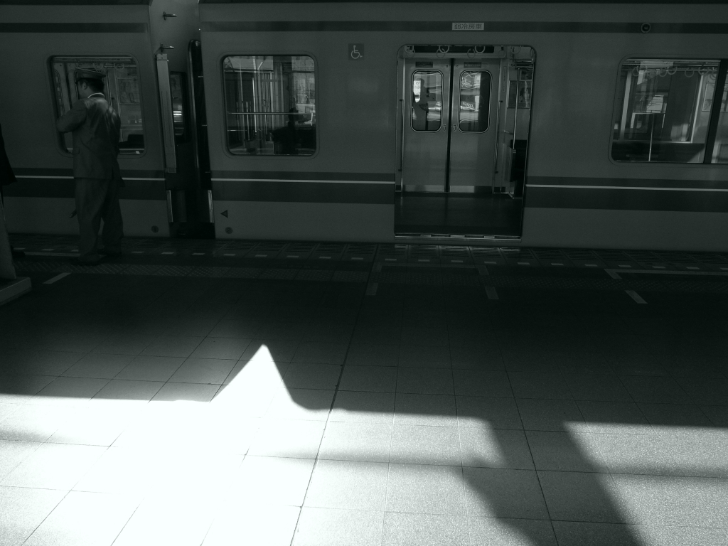 和光市駅にて