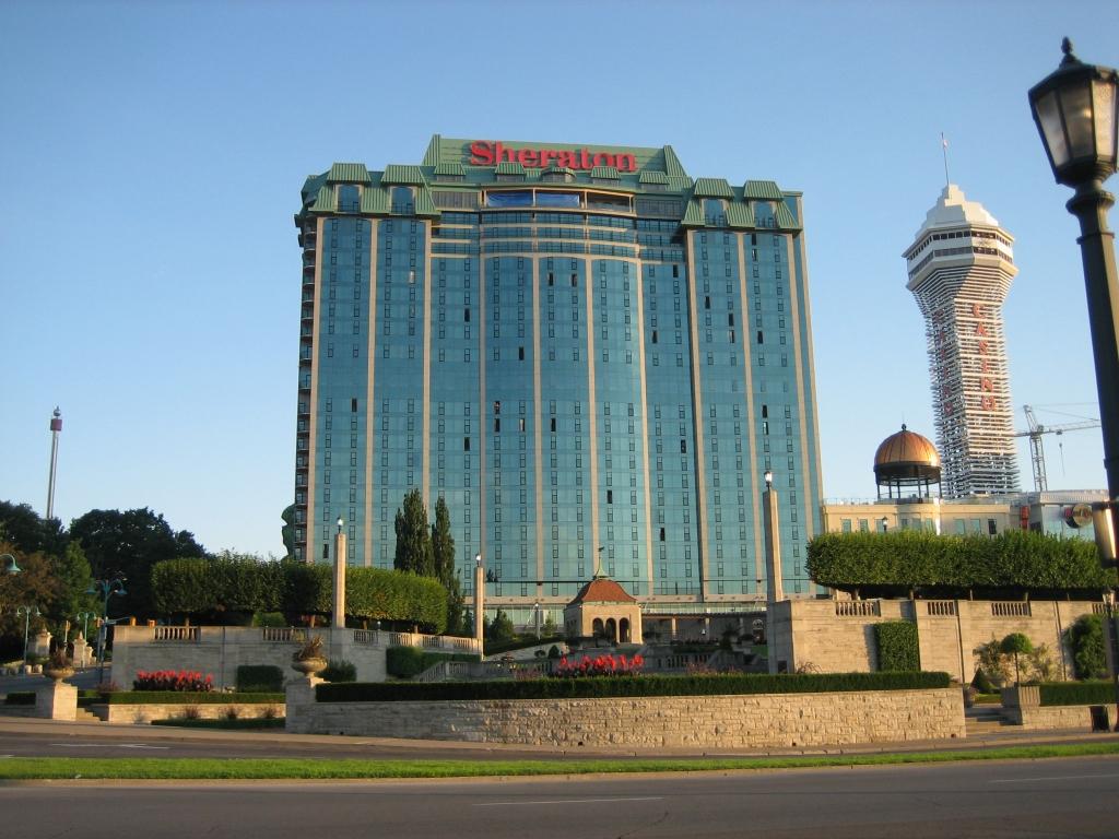 ナイアガラ近くのホテル