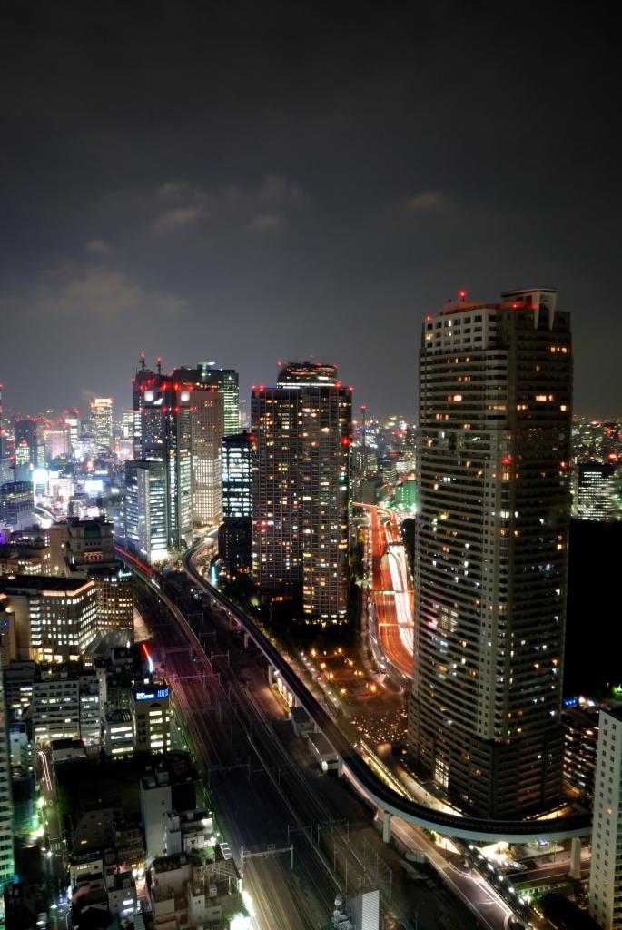 浜松町 貿易センター 夜景