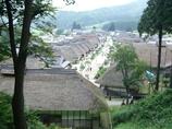 会津の大内宿