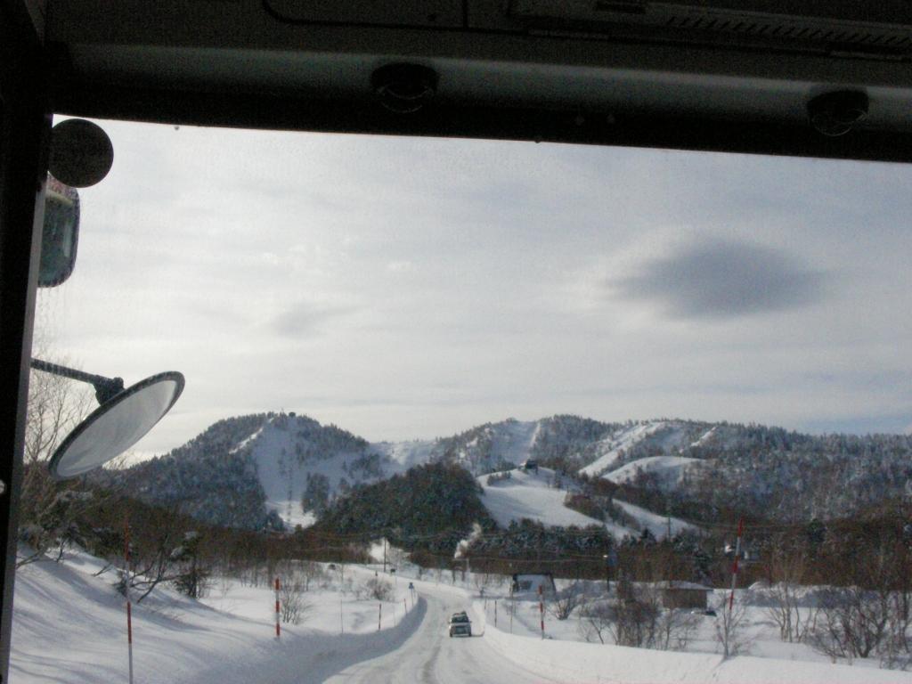 路線バスからの風景