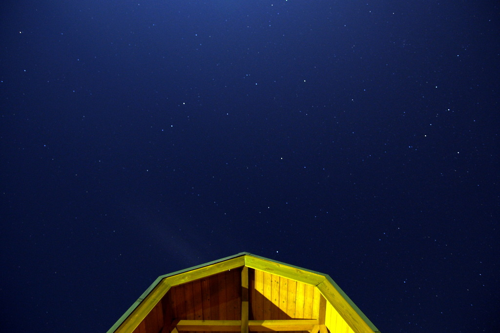 星降る夜を歩いてみよう
