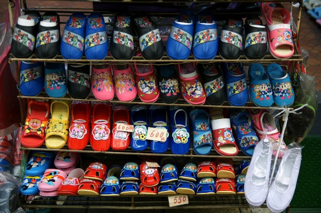 商店街の靴屋さん