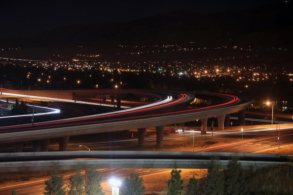 サンノゼの夜景