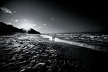 The sun and beach