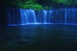 蒼い水の世界