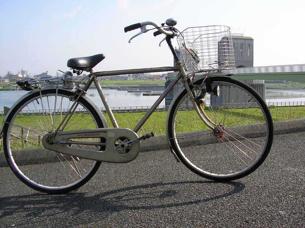 古い軽快車(ジェントルマン)