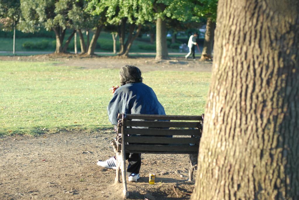 朝の大師公園