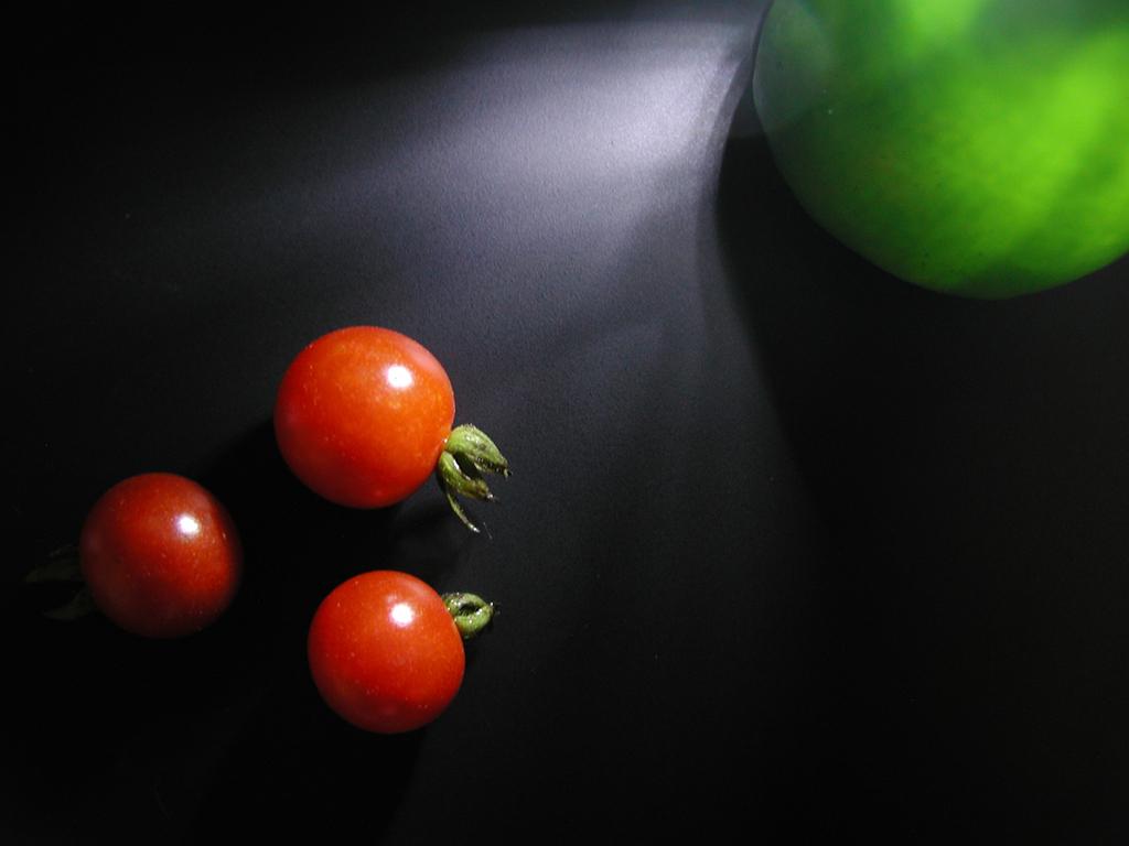 トマトとピーマン