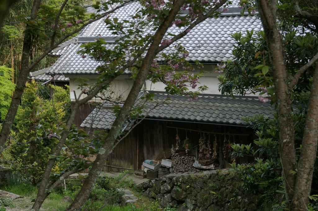 山村の旧家