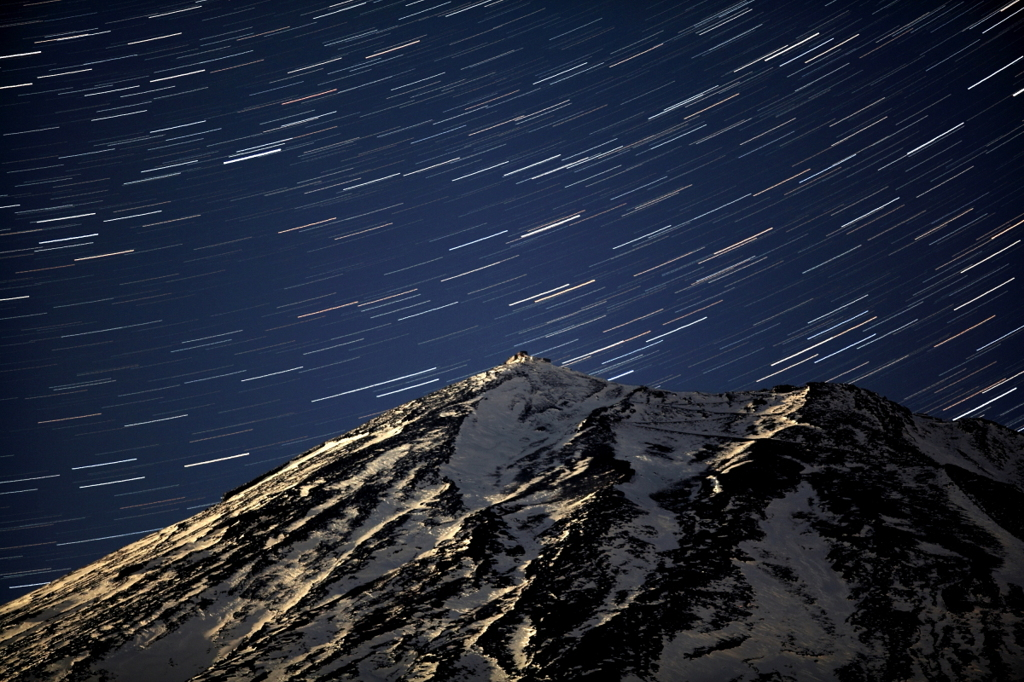 富士山頂昇星郡