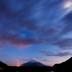 CANON Canon EOS 5D Mark IIで撮影した風景(冬至富士)の写真(画像)