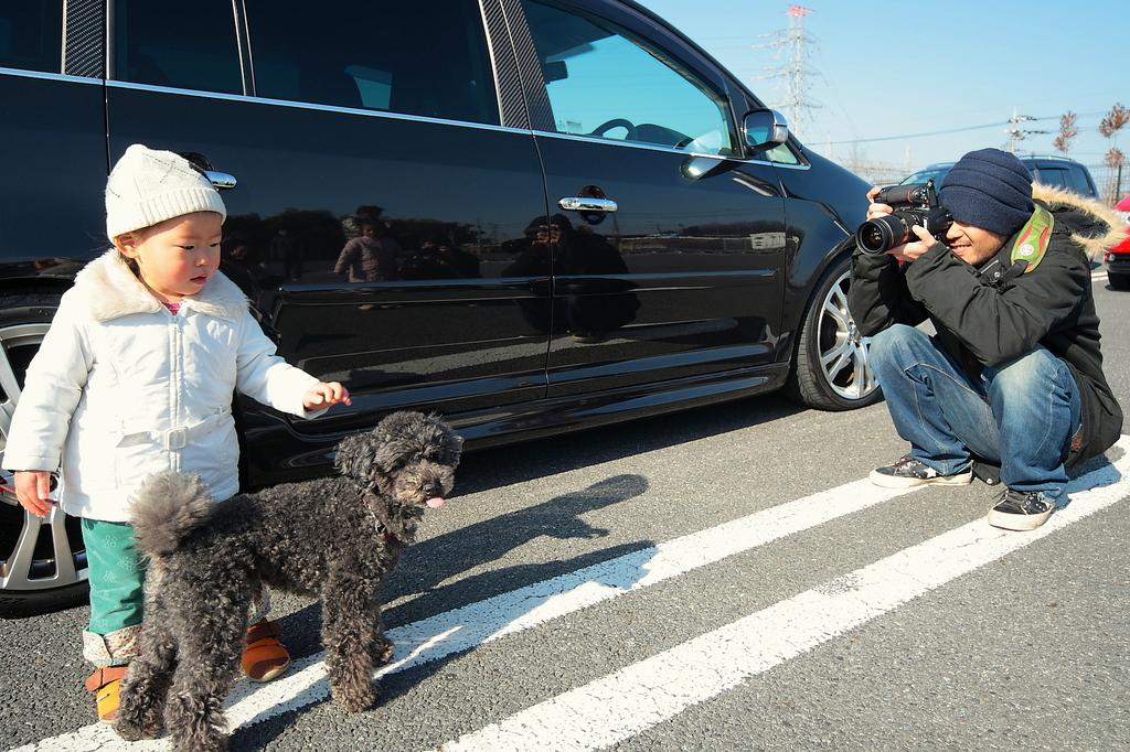 犬と子供とPQと