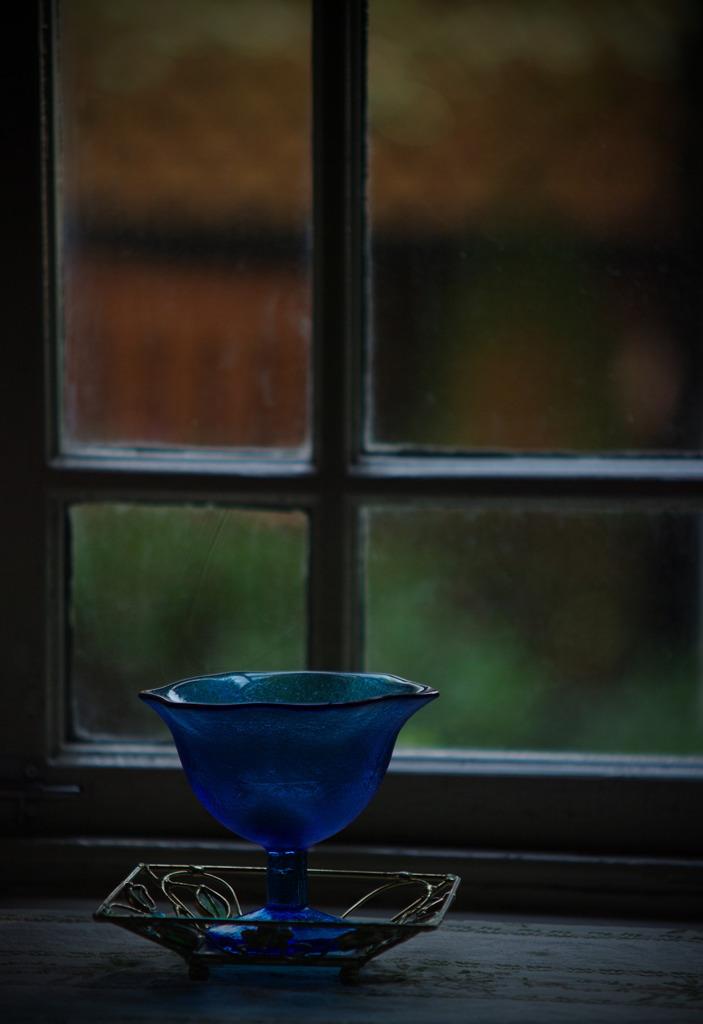 窓際のBlue